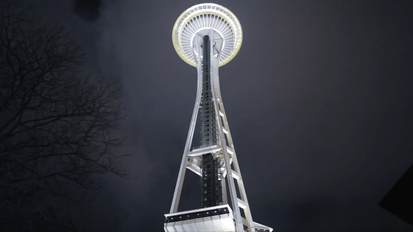 Space Needle in Seattle Washington