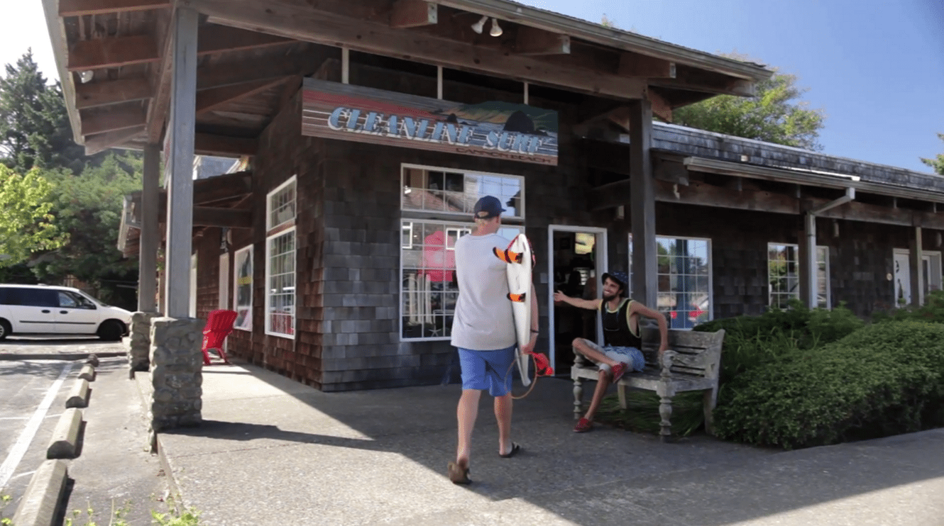 Cleanline Surf Shop Cannon Beach OR