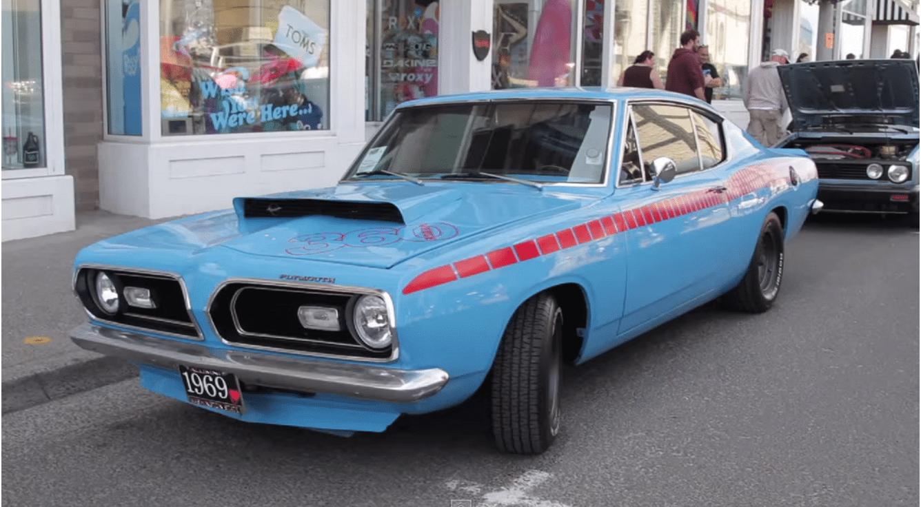 Classic Car Show Seaside OR