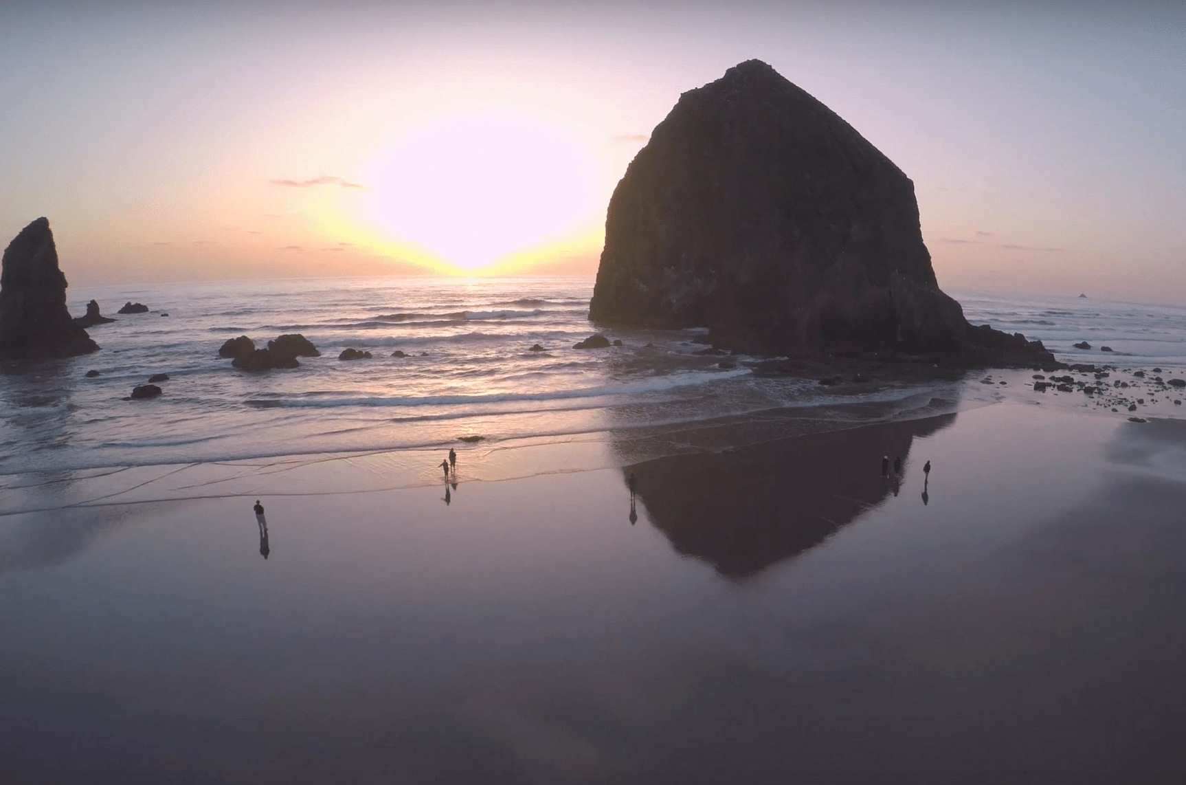 Oregon Coast Aerial Video
