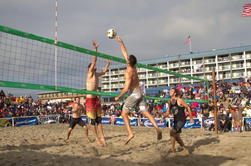 Beach Volleyball Rally Oregon.26 PM