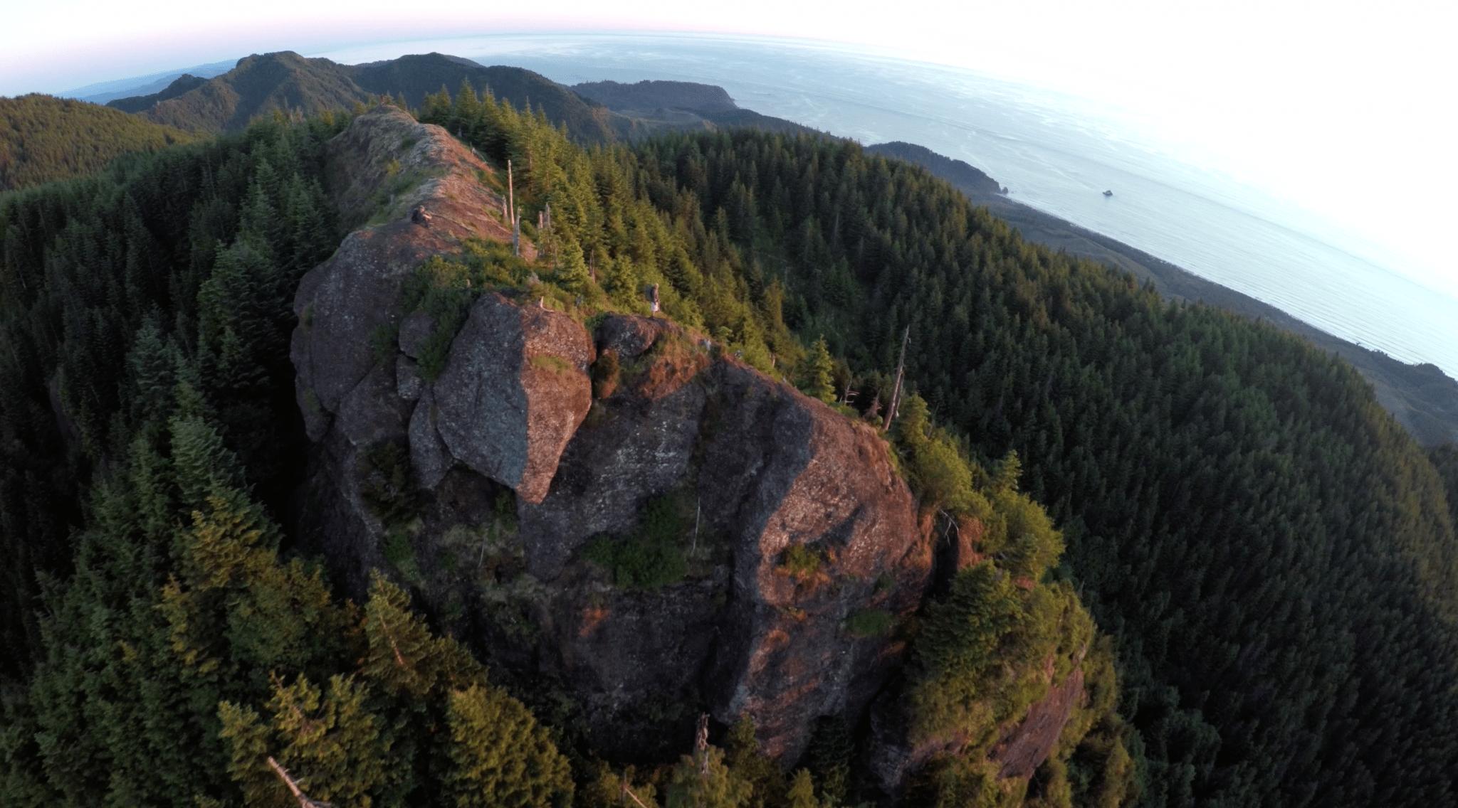 Epic Ridge in the Oregon Coast Range Mountains