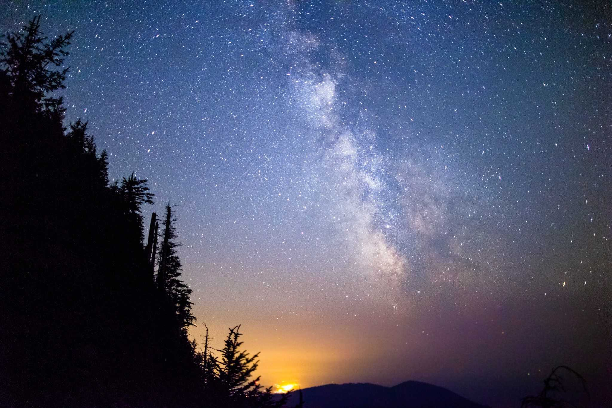 Oregon Coast Milky Way Galaxy Angora Peak