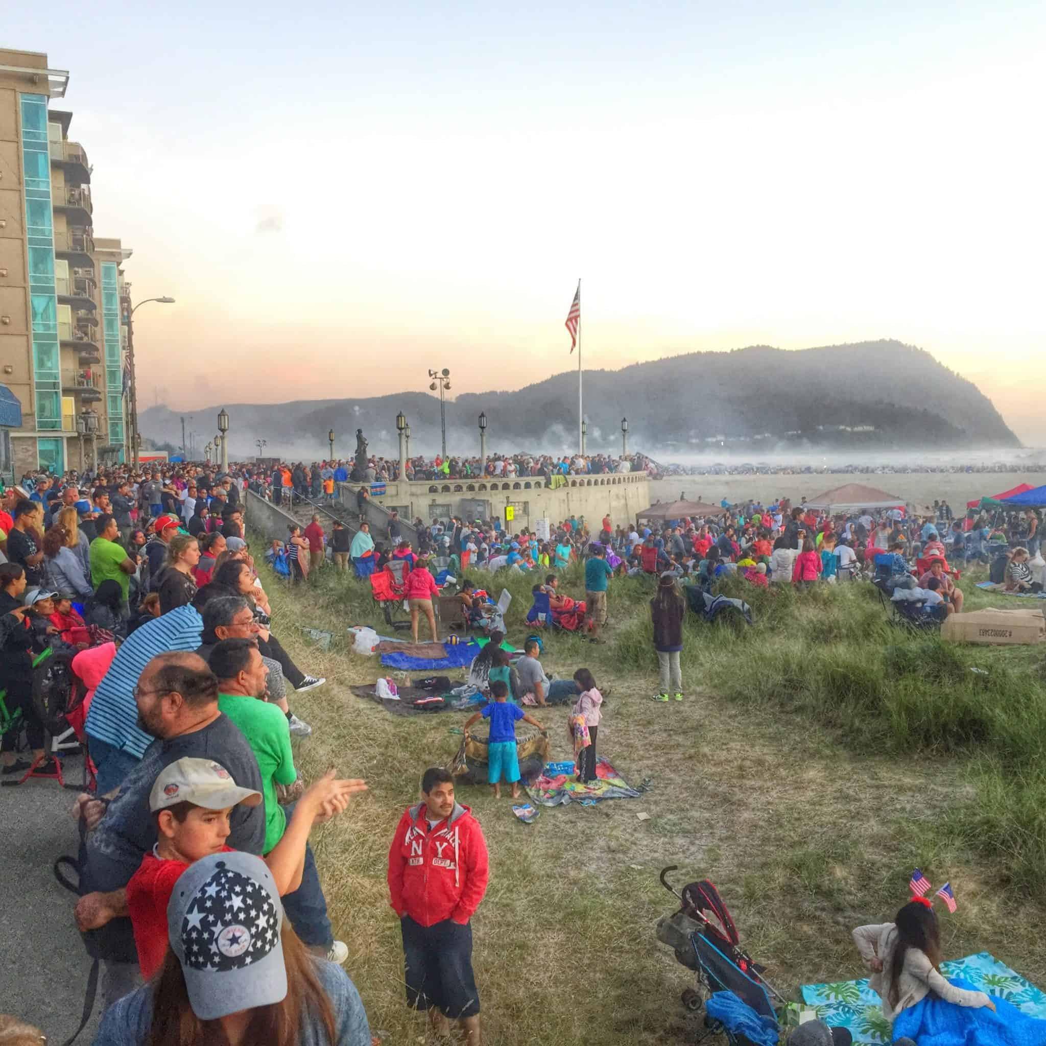 4th of July Madness in Seaside Oregon 2015