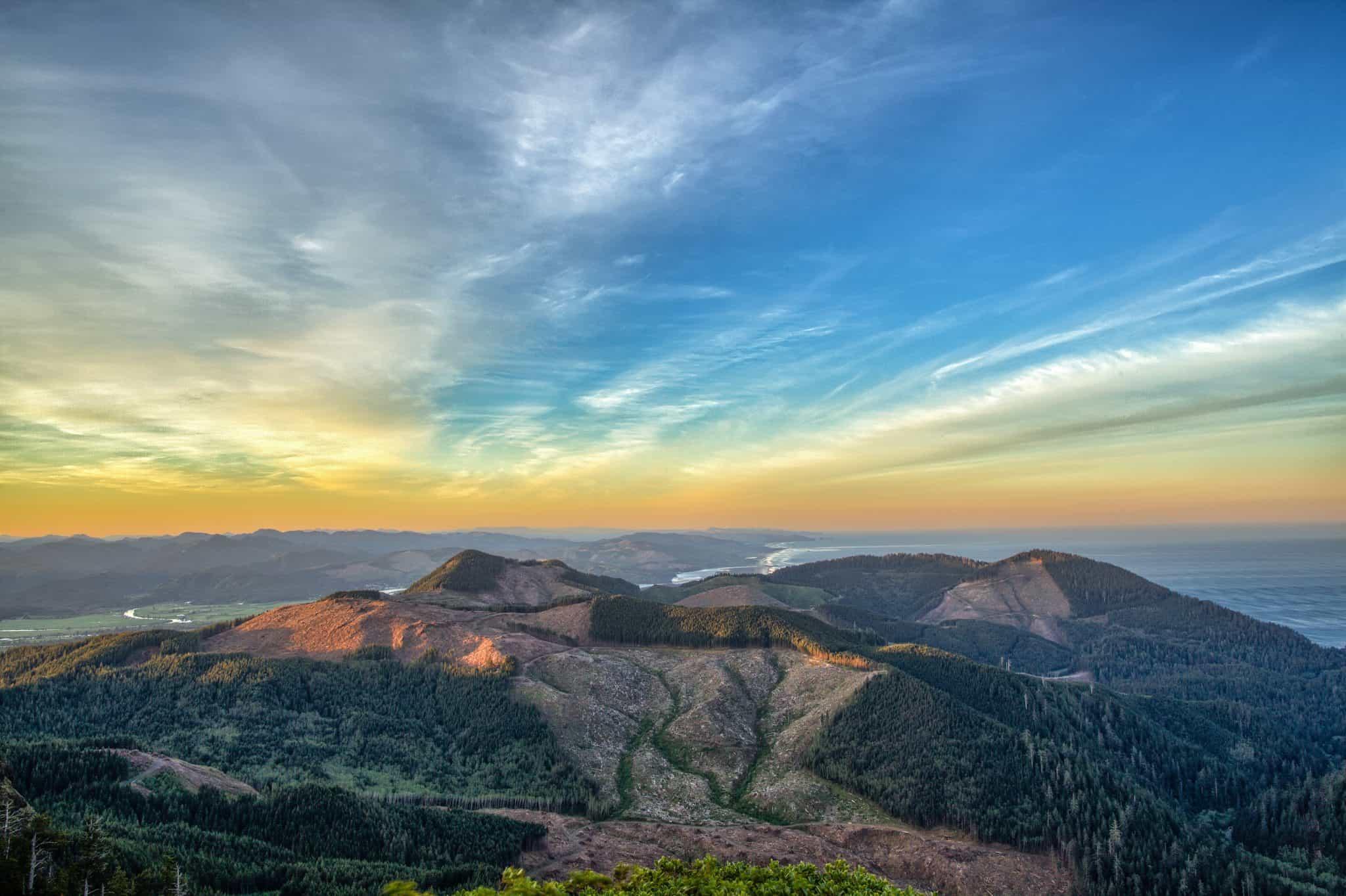 Angora Peak Oregon Coast
