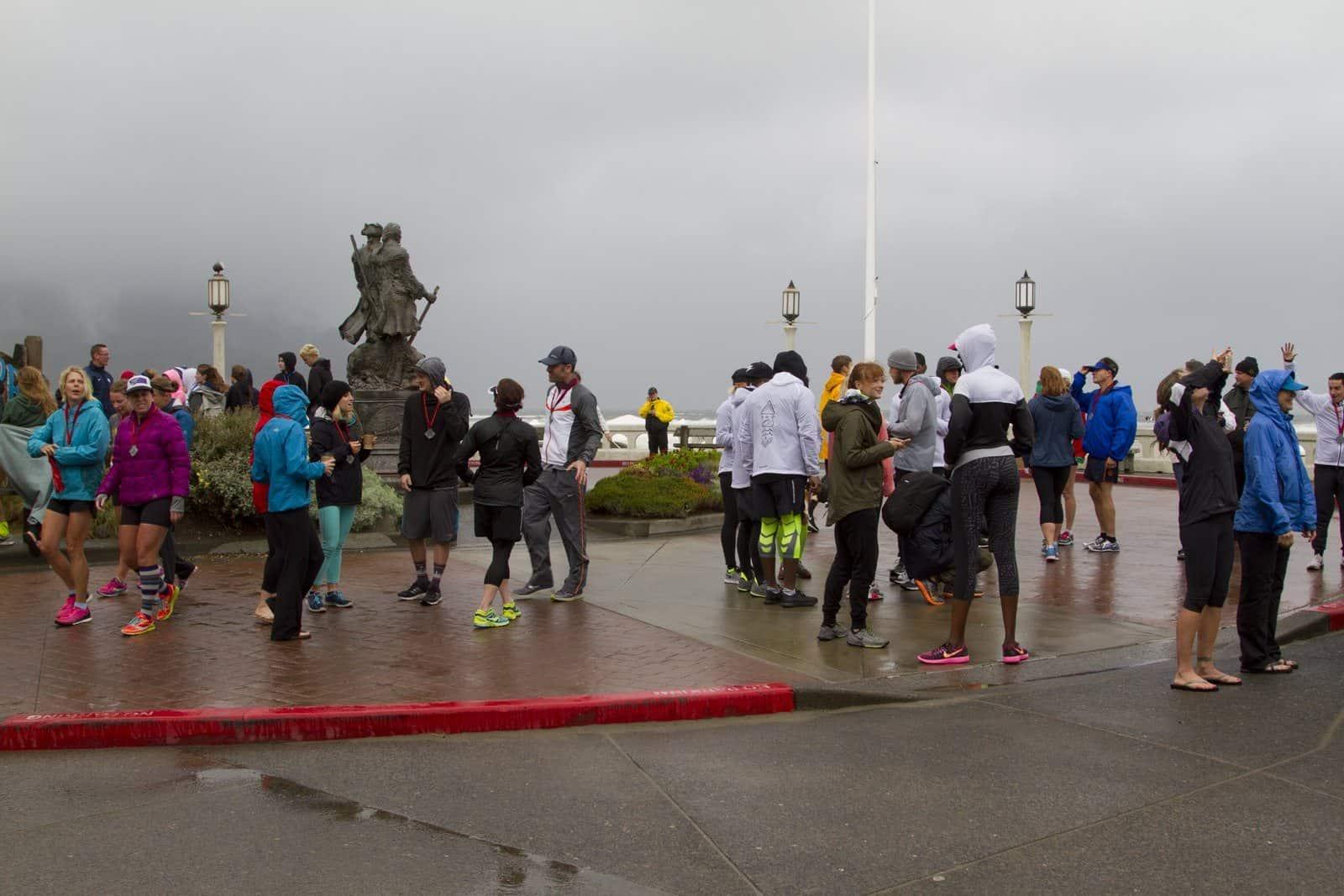 Hood to Coast Turnaround Finish Line 2015