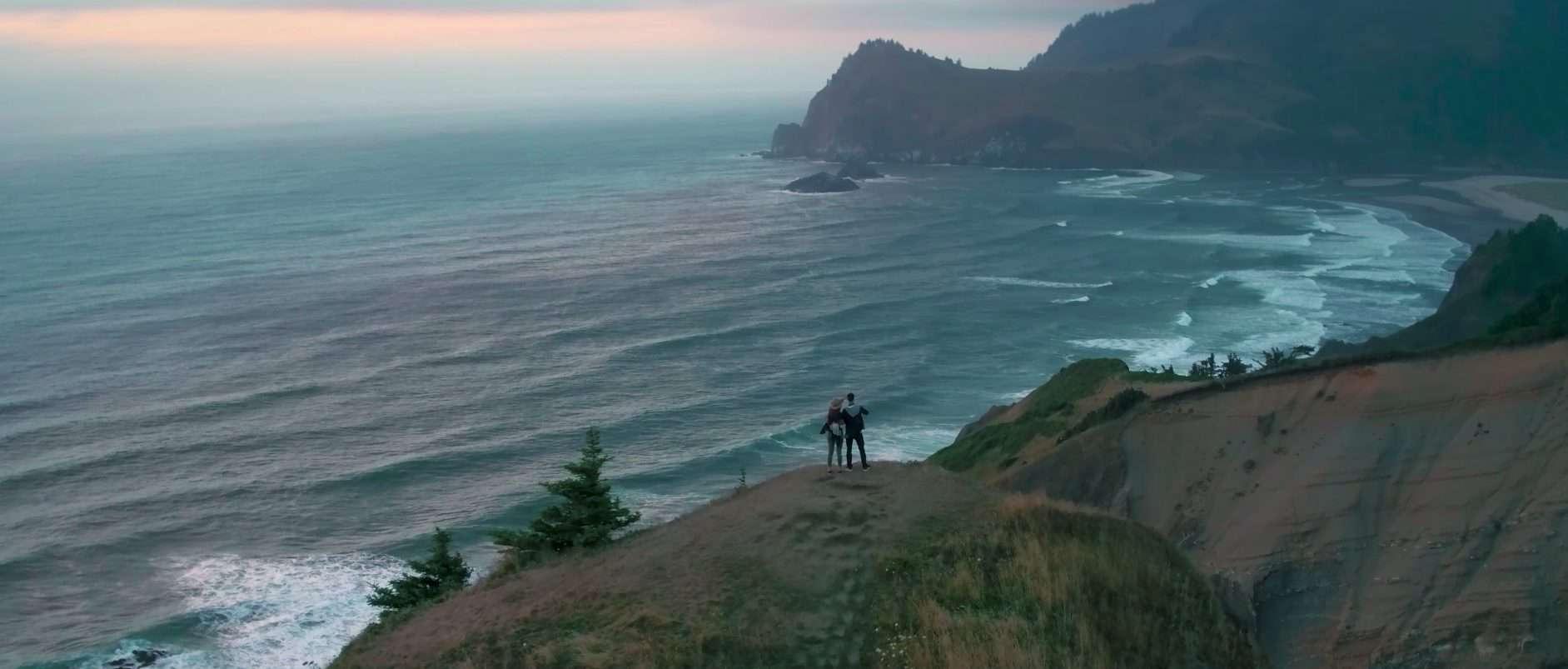 Breathtaking view Gods Thumb Oregon Coast