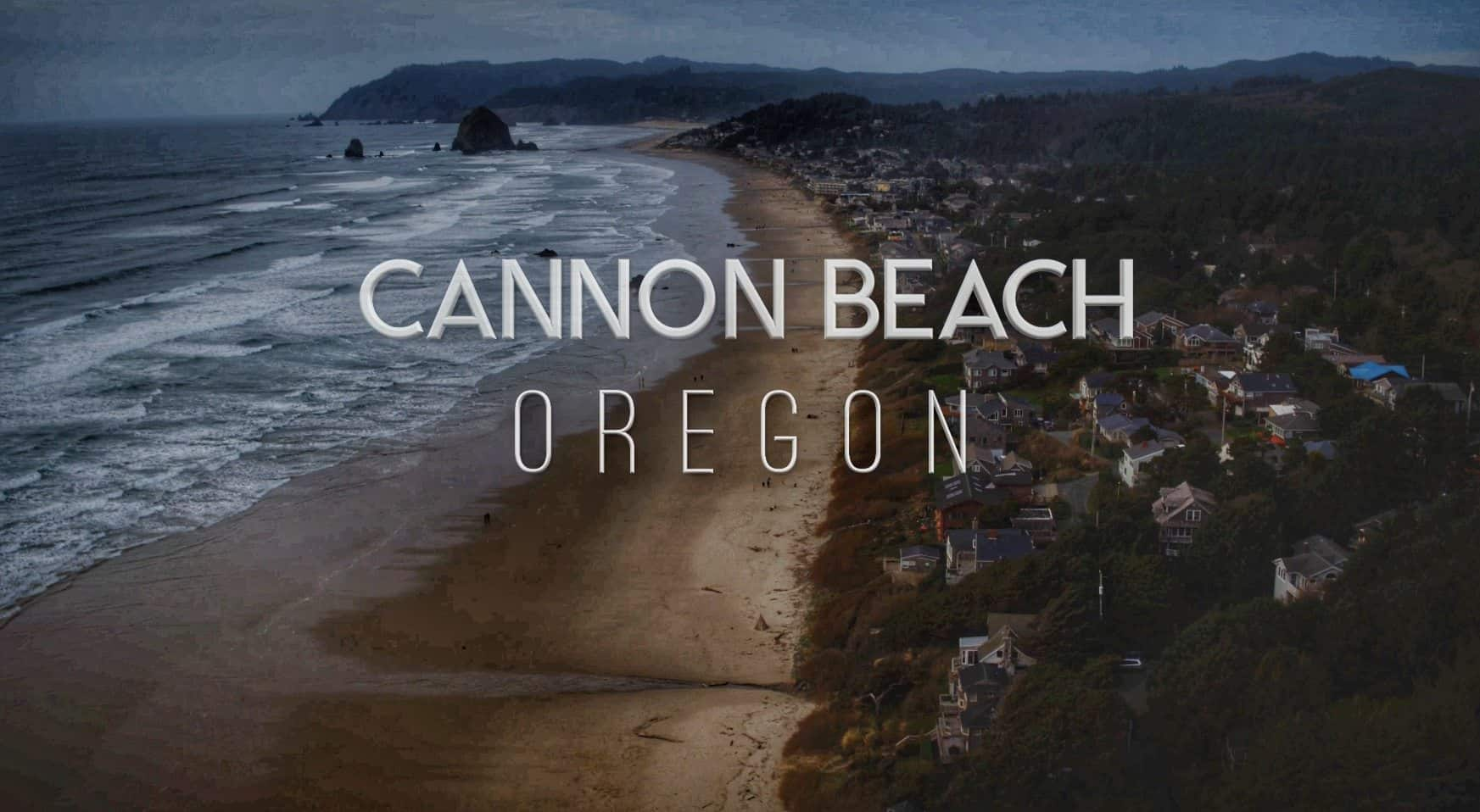 aerial-photography-cannon-beach-oregon